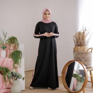 Harga mybamus casual line dress black m14523 | HARGALOKA.COM