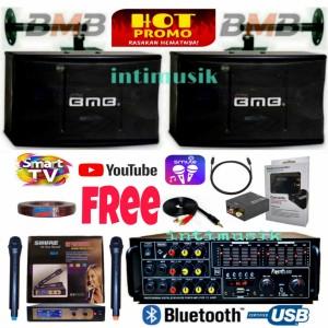 Harga paket speaker karaoke set bmb 10 inch sound system super iii   HARGALOKA.COM