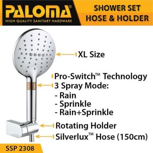 Harga Paloma Ssp 2308 Shower Set Handshower Mandi Hand Head Kepala Air Paket Katalog.or.id