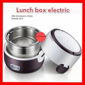 Harga lunch box electric rantang pemanas makanan   | HARGALOKA.COM