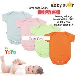 Harga baju bayi jumper bayi romper bayi baju kodok bayi merek baby star     HARGALOKA.COM