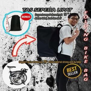 Harga tas sepeda lipat bahan tebal kuat awet   koper   HARGALOKA.COM