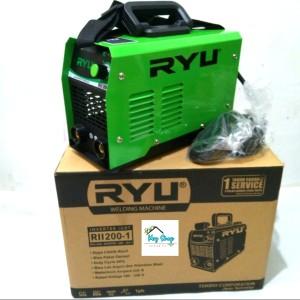 Harga mesin trafo las listrik 1800watt inverter ryu igbt rii 200 1 by   HARGALOKA.COM