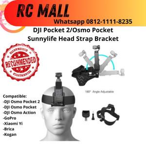 Harga head band strap adapter dji osmo pocket 2 action gopro mount   HARGALOKA.COM