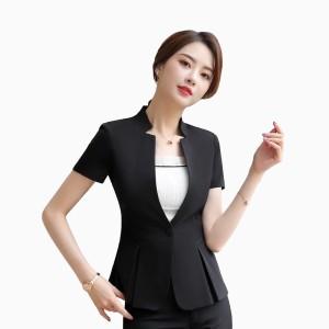 Harga blazer kerja kantor wanita gaya korea murah terbaru   jfashion kanza   hitam   HARGALOKA.COM