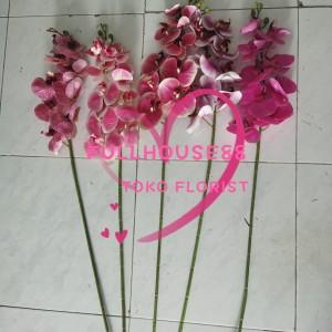 Harga bunga plastik buatan anggrek kupu kupu decorasi rumah bunga | HARGALOKA.COM