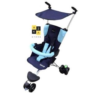Harga stroller babyelle wave s300 navy blue stroller buat | HARGALOKA.COM