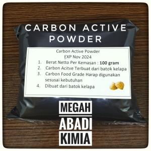 Katalog Carbon Active Karbon Aktif Activated Charcoal Powder 100 Gram Katalog.or.id