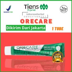Harga promo pasta gigi orecare pemutih dan penghilang plak karang | HARGALOKA.COM