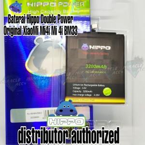 Harga baterai hippo double power original xiaomi mi4i mi 4i bm33 | HARGALOKA.COM