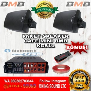 Harga paket speaker indoor kafe minimalis bmb | HARGALOKA.COM