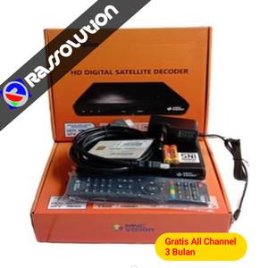Harga decoder mnc vision hd   indovision tanpa kabel amp | HARGALOKA.COM