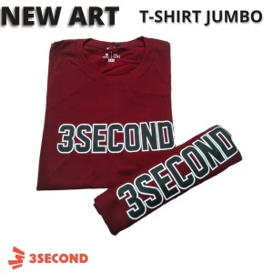 Harga baju kaos tshirt distro pria big size 3second threesecond jumbo | HARGALOKA.COM