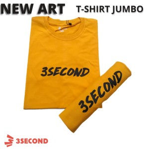 Harga baju kaos tshirt jumbo distro pria 3second threesecond xxl big | HARGALOKA.COM