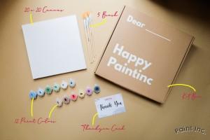 Harga painting kit polos paint kit paint inc id set alat lukis   1 | HARGALOKA.COM