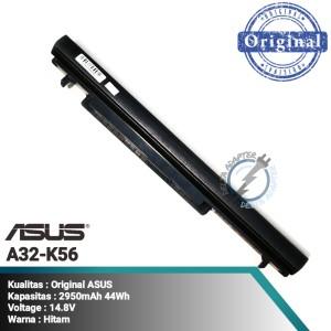 Harga ori baterai asus ultrabook s550 s56 u48 u58 v550   HARGALOKA.COM
