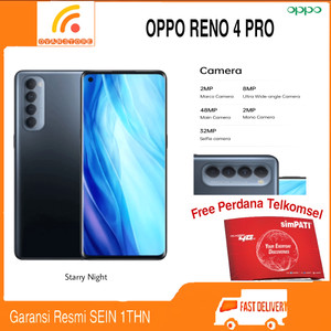Harga oppo reno 4 pro ram 8 128gb garansi resmi oppo indonesia   starry   HARGALOKA.COM