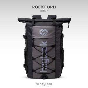 Harga tas ransel pria waterproof backpack rockford tas outdoor anti air   | HARGALOKA.COM