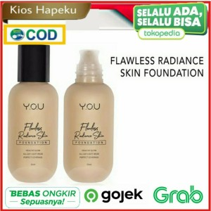Harga you flawless radiance skin foundation original bpom   deep | HARGALOKA.COM
