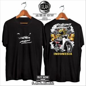 Harga kaos baju motor honda astrea grand indonesia kaos otomotif   gilan     HARGALOKA.COM
