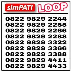 Harga nomor cantik simpati loop   HARGALOKA.COM