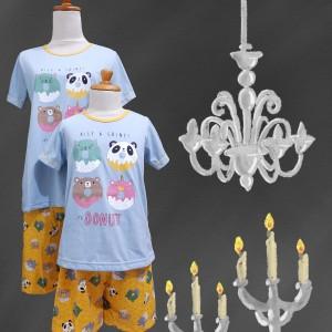Harga baju tidur anak anne claire 4 donuts st lgn pdk cln pdk   | HARGALOKA.COM