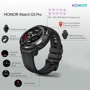 Harga honor watch gs pro smartwatch gps bluetooth call sport amoled resmi   | HARGALOKA.COM
