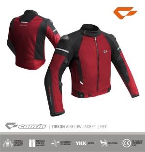 Harga jaket contin zirkon facelift red jaket motor contin     HARGALOKA.COM