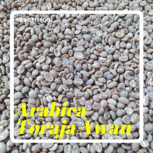 Harga greenbean coffee biji kopi mentah arabica arabika toraja awan | HARGALOKA.COM