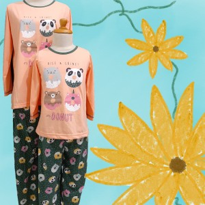 Harga baju tidur anak anne claire 4 donuts st lgn pjg cln pjg   | HARGALOKA.COM