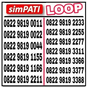 Harga nomor cantik simpati loop 4g   HARGALOKA.COM