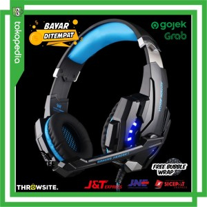 Harga gaming headset twisted with led light kotion each | HARGALOKA.COM