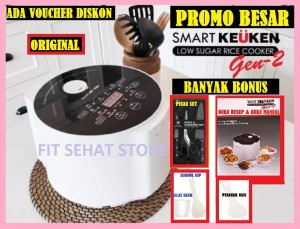 Harga smart keuken gen 2 rice cooker low carbo rendah karbo | HARGALOKA.COM