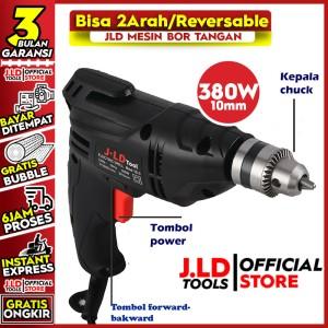 Harga mesin bor listrik uk 10mm tipe j10 3 by jld | HARGALOKA.COM