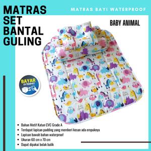 Harga perlengkapan tidur bayi perlak matras set bantal   HARGALOKA.COM