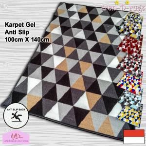 Harga tren d rugs karpet lantai kamar bulu permadani anti slip murah nms 2   grey   HARGALOKA.COM