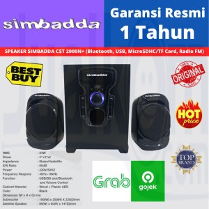Harga simbadda music player cst 2000 n speaker | HARGALOKA.COM