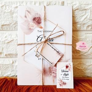 Harga paket komplit undangan pernikahan model terbaru kd bbo | HARGALOKA.COM