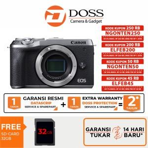 Harga canon eos m6 mirrorless digital camera body only canon eosm6   | HARGALOKA.COM
