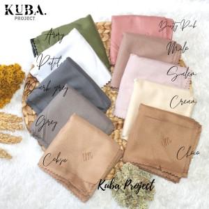 Harga hijab segiempat voal miracle plain umama lasercut um bordir jilbab   dusty | HARGALOKA.COM