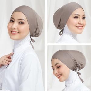 Harga ciput cepol katun inner basic hijab dalaman jilbab premium   | HARGALOKA.COM