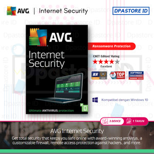Harga antivirus avg internet security latest version 3 pc 1 | HARGALOKA.COM