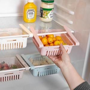 Harga laci tambahan kulkas organizer   multifungsi box storage kulkas   merah | HARGALOKA.COM