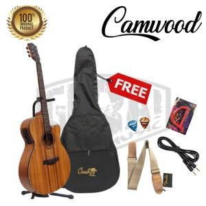 Harga gitar akustik elektrik eq 7545r camwood iwc 235nsk original import   paket | HARGALOKA.COM