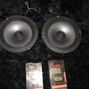 Harga speaker split 2 way hertz hv 165 made in | HARGALOKA.COM