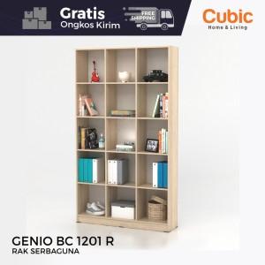 Harga cubic rak serbaguna buffet sekat partisi ruangan genio bc 1201 r   | HARGALOKA.COM