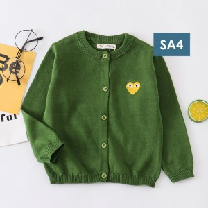 Harga cardigan anak laki laki perempuan sweater outwear keren lucu imut love   sa4   HARGALOKA.COM