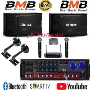 Harga paket sound system karaoke bmb speaker 10 34   HARGALOKA.COM