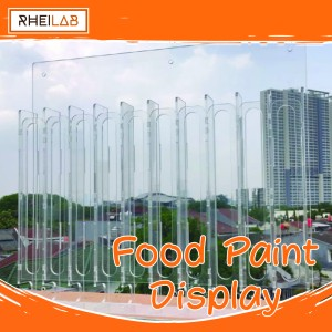 Harga akrilik acrylic food paint display edible paint | HARGALOKA.COM