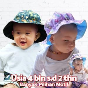 Harga topi bayi bucket hat karakter murah lucu   | HARGALOKA.COM